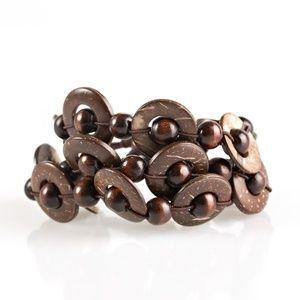 Cancun Catch - Brown Bracelet